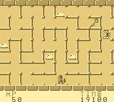 The Tower of Druaga Game Boy You have to get the key so you can open the floor's door.