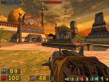 Serious Sam: The Second Encounter Windows Stunning and colorful level design abounds.  Outdoors...