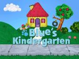 Blue's Clues Kindergarten Windows The title screen