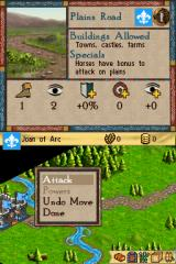 Age of Empires: The Age of Kings Nintendo DS Choosing to attack the enemy!