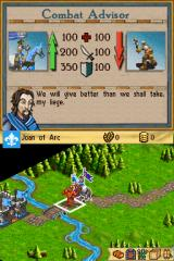 Age of Empires: The Age of Kings Nintendo DS Pre-battle calculations