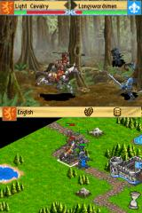 Age of Empires: The Age of Kings Nintendo DS The battle backgrounds are very well drawn.