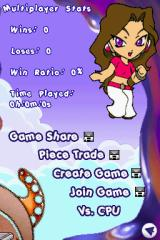 Toon-Doku Nintendo DS A multiplayer menu