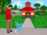 Blue's Clues: Blue Takes You to School Windows Intro - Joe sees you off to the schoolhouse