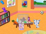 Blue's Clues: Blue Takes You to School Windows Visit the class pet, Giggles the rabbit