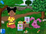 Blue's Clues: Blue Takes You to School Windows In the nature garden with Miss Marigold and assorted wildlife