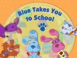 Blue's Clues: Blue Takes You to School Windows The title screen...