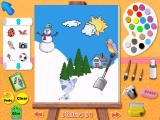 Blue's Clues: Blue Takes You to School Windows A finished picture - print or save