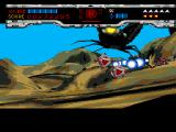 Novastorm SEGA CD As you really can't harm the homing projectiles this mid-boss shoots at you, avoid them for as long as you can.