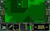 Special Forces DOS Night mission. Not much different, but screen's green.
