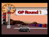 Jaguar XJ220 SEGA CD Starting a GP race.