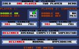 Superstar Indoor Sports Atari ST Darts options