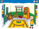 Caillou: Magic Playhouse Windows Here you are in Caillou's playroom - click the xylophone to start a game