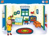 Caillou: Magic Playhouse Windows Caillou's room...very neat! Except for the dresser...