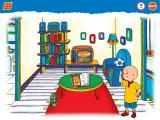 Caillou: Magic Playhouse Windows In the livingroom. Hmmm, we're looking for a soccer ball...