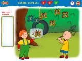 Caillou: Magic Playhouse Windows Catch the butterflies Leo asks for