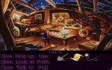 Monkey Island 2: LeChuck's Revenge DOS Wally, the mighty cartographer hard at work