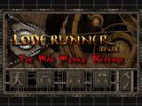 Lode Runner On-Line: The Mad Monks' Revenge Windows Title screen