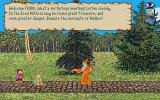 J.R.R. Tolkien's War in Middle Earth Amiga Hobbits talking with a wizard
