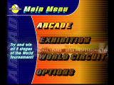 Virtua Tennis Dreamcast Main Menu