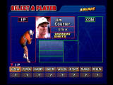 Virtua Tennis Dreamcast Player Selection