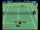 Virtua Tennis Dreamcast Kafelnikov takes a dive