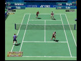 Virtua Tennis Dreamcast Doubles Match