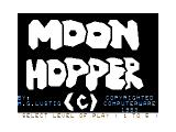 Moon Hopper TRS-80 CoCo Intro/Credits screen