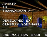 Spike in Transilvania Amiga Title screen