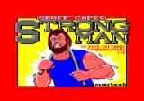 Geoff Capes Strongman Amstrad CPC Title screen