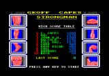 Geoff Capes Strongman Amstrad CPC High scores