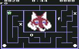 Alphabet Zoo Commodore 64 In game 2, I need to select the letters to spell the name of the pictured item, a fox, here.