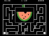 Alphabet Zoo ColecoVision This time the picture is a melon