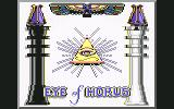 Eye of Horus Commodore 64 Loading screen