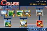 Motocross Challenge Game Boy Advance The different events in the Challenge mode