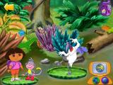 Dora the Explorer: Animal Adventures Windows Do the same on the river...