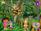 Dora the Explorer: Animal Adventures Windows ...and, oops! The jaguar's spots fell off!