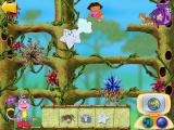 Dora the Explorer: Animal Adventures Windows Gusty the Explorer star helps out at a particularly tricky spot.
