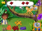 Dora the Explorer: Animal Adventures Windows Feeding a hungry spider monkey.