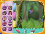 Dora the Explorer: Animal Adventures Windows All the photos you took are here and you can make your own scenes.
