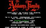 The Addams Family Amiga Title screen