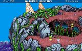 Altered Destiny Amiga Game start