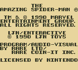 The Amazing Spider-Man Game Boy Publisher/Developer Info