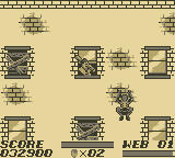 The Amazing Spider-Man Game Boy To the rooftops!