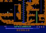Spelunker Atari 8-bit Use the flare to get temporarily get rid of the bird.
