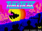 Time Trax ZX Spectrum Loading screen