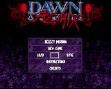 Dawn: A New Beginning Amiga Start menu
