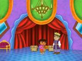 Dora the Explorer: Fairytale Adventure Windows The Dragon has thrown off an enchantment and become the handsome prince he really is, and he has a present for us!