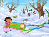 Dora the Explorer: Fairytale Adventure Windows Changing Winter into Spring
