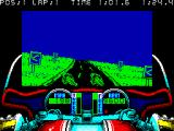 750cc Grand Prix ZX Spectrum Battling for 1st place